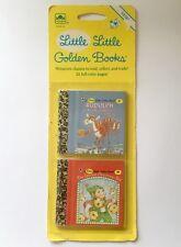 Little Little Golden Books Miniature Sealed 37 38 Rudolph Christmas Elf 1992