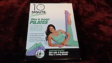 10 Minute Solution: Slim and Sculpt Pilates with band  NEW DVD *RE-SHAPE BODY