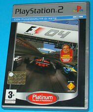 F1 - Formula 1 04 - Sony Playstation 2 PS2 - PAL