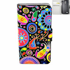 Jellyfish Flip Leather Magnetic Phone Case For Samsung Galaxy S4 Mini i9190