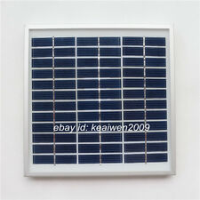 18V 167MA 3W solar panel power 12v battery solar glass plate module charger cell