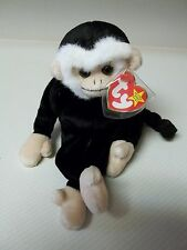 TY RARE MOOCH The Monkey Beanie Baby with 2 Tag Errors Mint