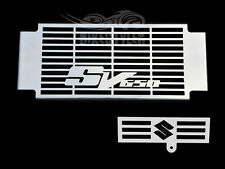 SUZUKI SV 650 / 650 S 2003-04 STAINLESS STEEL RADIATOR COVER w/ OIL COOLER GRILL