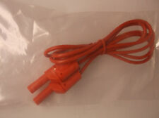 "New 48"" Test Lead Stackable Banana Plug Red 1000 Max Volts FREE SHIP (C2)"