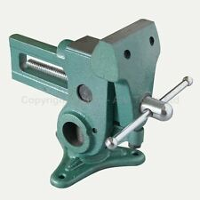 4021704 Parrot Vise 360 Degree Swivel Mechanism Lay Vise Flat Jaw Holes