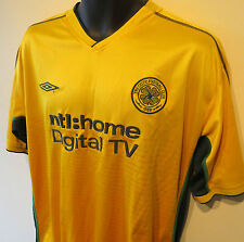 Umbro 02-03 Glasgow Celtic Football Shirt Camiseta Jersey St Pauli Trikot XL