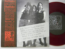 Inside-Outside (red wax ep 33 w/ps+insert) DO IT YOURSELF 4 song~M- Det.fem.punk