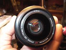 Minolta Zoom 35-70 F4 Mini Beercan Maxxum Lens Sony A7r A7rll A7 Nex A TESTED 9+
