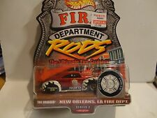 Hot Wheels Fire Department Rods New Orleans LA. Tail Dragger