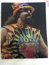 Mick Foley Dude Love WWE WWF Legend HOFer SIGNED 8x10 Photo Autographed With COA