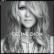 Loved Me Back To Life Celine Dion MUSIC CD