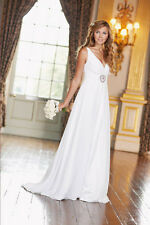 BNWT Ladies White Jewel Centre Dress NICHOLAS MILLINGTON - UK 8