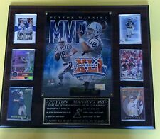 Peyton Manning (Indianapolis Colts)    6 card plaque with custom engraving