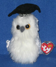 TY CLASS OF 2004 the OWL BEANIE BABY - MINT with MINT TAG