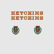Hetchins Bicycle Frame Stickers - Decals - Transfers  n.1