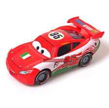 Disney Pixar Cars Diecast Italy Flag Lightning Mcqueen Toy