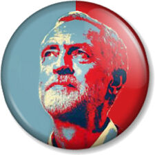 """Jeremy Corbyn 25mm 1"""" Pin Button Badge Labour Party Politics #jezwecan Support"""