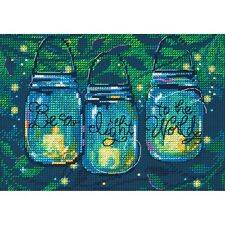 Counted Cross Stitch Kit BE A LIGHT Dimensions New Release!