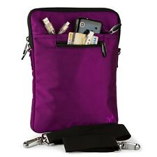 "9.7"" 10"" 10.1"" Laptop Tablet Case Sleeve Messenger Ipad Bag With Shoulder Strap"