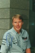 Mika Häkkinen Autogramm 20x30 cm Bild