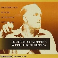 Richter / Beethoven - Richter Rarities with Orchestra [New CD]