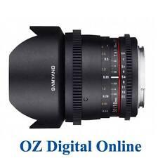 New Samyang 10mm T3.1 ED AS NCS CS VDSLR Lens for Canon 1 Yr Au Wty