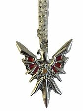 "League of Legends Series Leona's Shield Pendant Necklace with 20"" Chain"