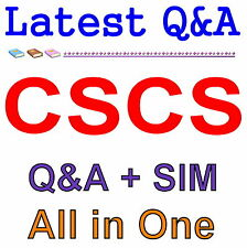 Certified Strength and Conditioning Specialist CSCS Exam Q&A PDF+SIM
