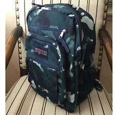 JanSport Large Big Student Backpack Navy Streaky Camo Book Bag TDN7 ZK8 NWT