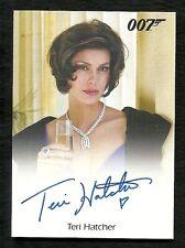 2015 James Bond Archives Teri Hatcher as Paris Carver Autograph VERY LIMITED