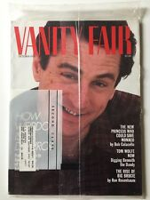 Vanity Fair Magazine October 1987 - Robert De Niro, NOS - Still in Plastic!
