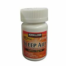 Kirkland Sleep Aid Doxylamine Succinate 25mg 96 Tablets + Free Shipping
