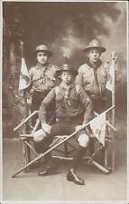 Wellingborough Studio Photo. Boy Scouts by JW.Rogers, Stanley Rd, Wellingborough
