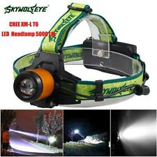 5000LM CREE XM-L T6 LED Waterproof Headlamp Headlight Flashlight Head Light Lamp