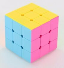 6X US YJ Moyu Yulong 3x3x3 Speed Cube Magic Puzzle Smooth Stickerless Brain Stom