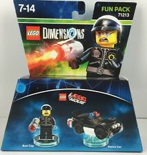 Lego Dimensions Fun Pack LMV Bad Cop + Police Car 71213 Neu & OVP lieferbar