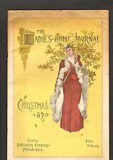 Christmas 1890 The Ladies Home Journal Magazine Great Advertisements