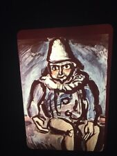 "Georges Rouault ""Seated Clown"" Expressionism Fauvism French Art 35mm Slide"