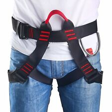 CE Certified Safety Seat Belt Climbing Harness Body Guide Rock Rappelling Bust