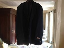 GEORGE FOREMAN JACKET RELAXER BLAZER COAT BLACK SIZE 48 XL BIG & TALL EXTRA LONG