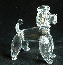 Swarovski ~ Poodle Standing w/ FrOsTeD Tail * DiScOnTiNuEd * Item # 604