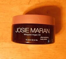 8oz JOSIE MARAN WHIPPED ARGAN OIL BODY BUTTER strawberries and whipped cream
