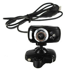 USB 80M HD Kamera Webcam mit Mikrofon 3 LEDs fuer PC Desktop Skype GY