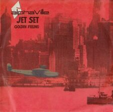 "AlphaVille - Jet Set / Golden Feeling *7"" Single* (WEA 249 126-7)"
