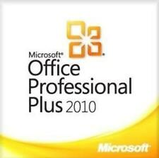 Microsoft office professionnel 2010 plus version complète/1 pc/e-mail delivery