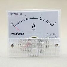 DC 0-3A Analog Amp Meter Ammeter Current Panel New