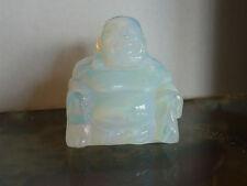 cristalloterapia BUDDHA OPALITE pietra scultura cristallo energia statua reiki