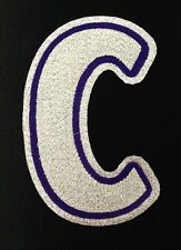 "LOS ANGELES KINGS CAPTAINS ""C"" SEWN PATCH FOR 2008-2011 BLACK JERSEY"