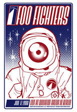 FOO FIGHTERS BERLIN 08 SILKSCREEN GIG POSTER ED OF 150