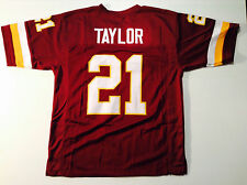 Washington Redskins Sean Taylor UNSIGNED CUSTOM Burgundy Jersey - XL